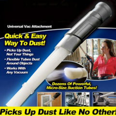 UNIVERSAL VACUUM DUST BRUSH ATTACHMENT