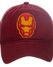 Iron Man Hat - Adjustable Hat w/ Iron Man - Marvel Comics Gift for Men