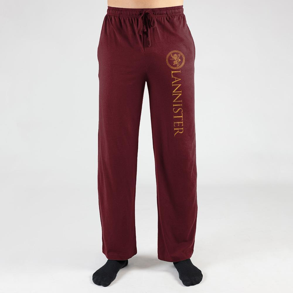 House Lannister Game of Thrones Pants Mens Game Of Thrones Sweatpants
