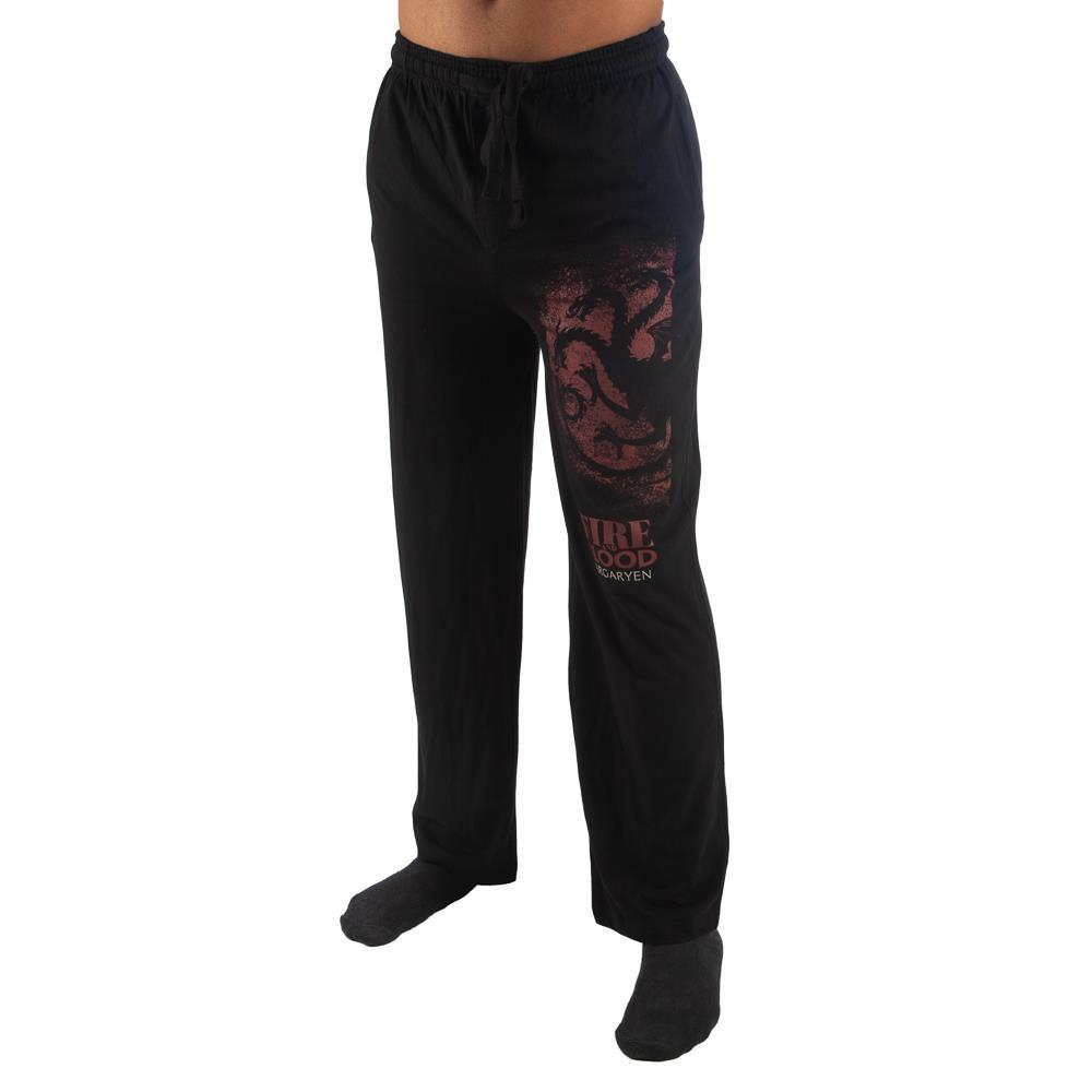 Game of Thrones House Targaryen Mens Pants