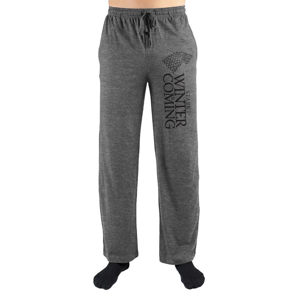 House Stark Winter Is Coming Game Of Thrones Sweatpants
