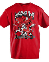 DC Comics Justice League Japanese Text Youth T-Shirt