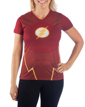 DC Flash Shirt DC Comics Cosplay Flash TShirt - DC Comics Flash Shirt Flash Tee