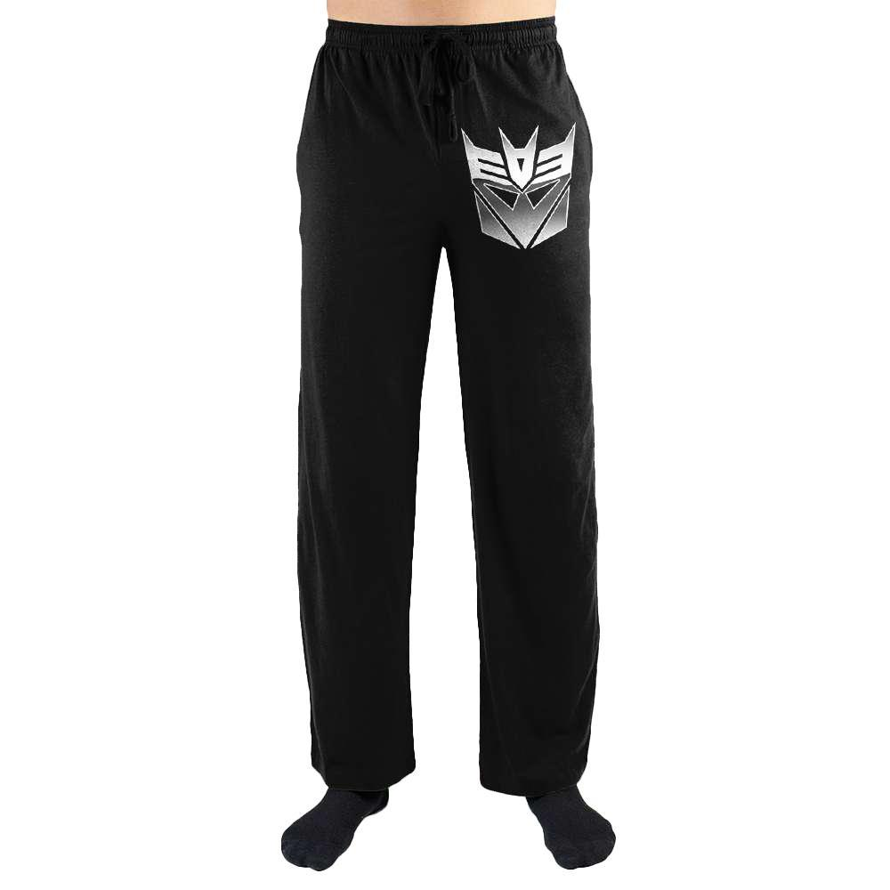 The Transformers Decepticon Logo Symbol Emblem Print Men's Loungewear Lounge Pants