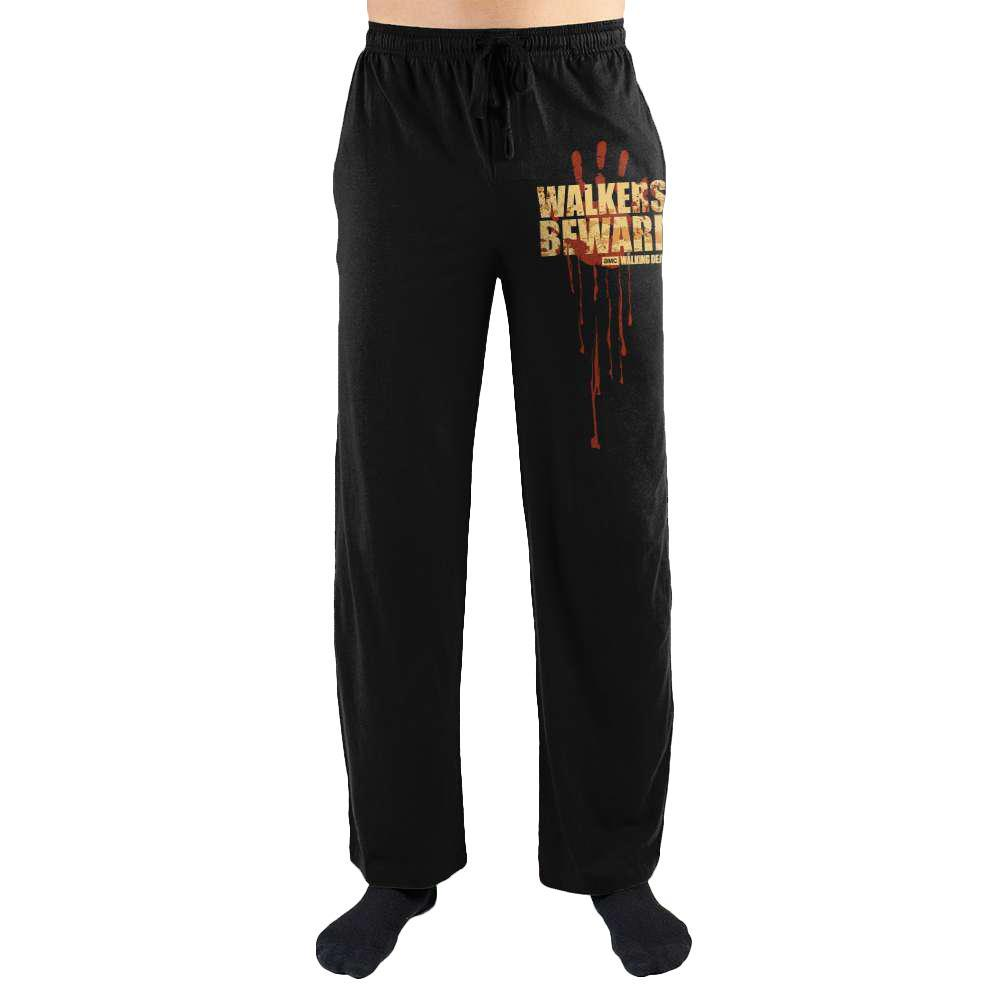 The Walking Dead Walkers Beware Print Men's Loungewear Lounge Pants
