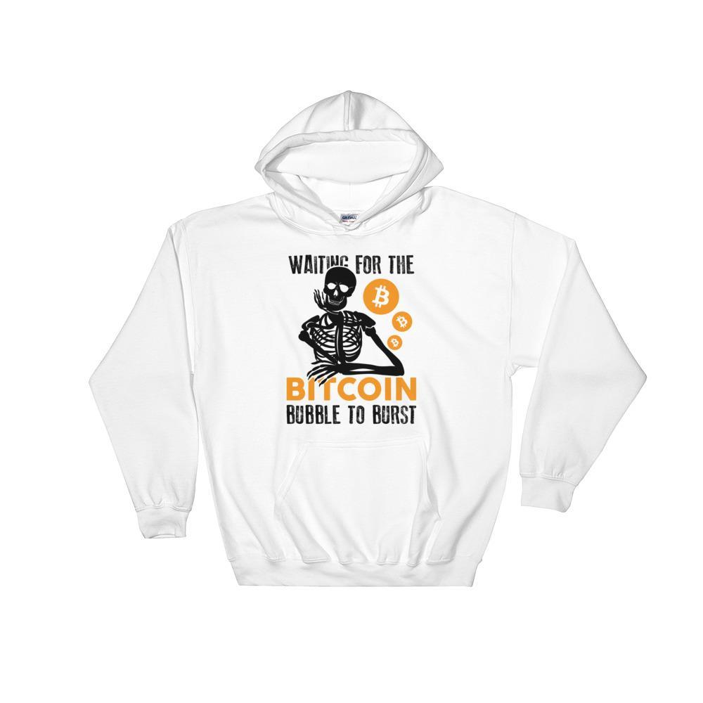 Bitcoin Bubble Men Hoodie