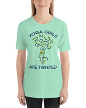 Yoga Girls Women Fine Tee