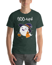 Boo-tiful Ghost Men Fine Tee