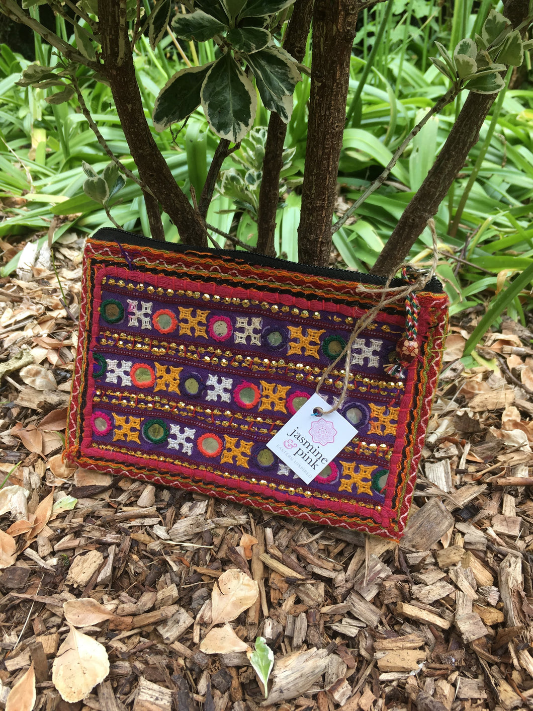 Small Banjara clutch purse