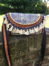 White banjara shoulder bag