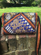 Blue banjara shoulder bag