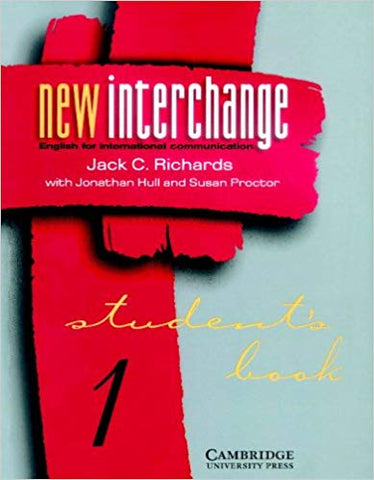 New Interchange Level 1 Student's book 1: English for International Communication (New Interchange Student's Book)