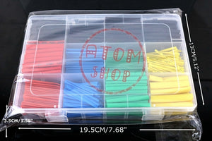 Thermal contra Sleeve cable Heat Shrink Tube termoretractil pvc tube tubing