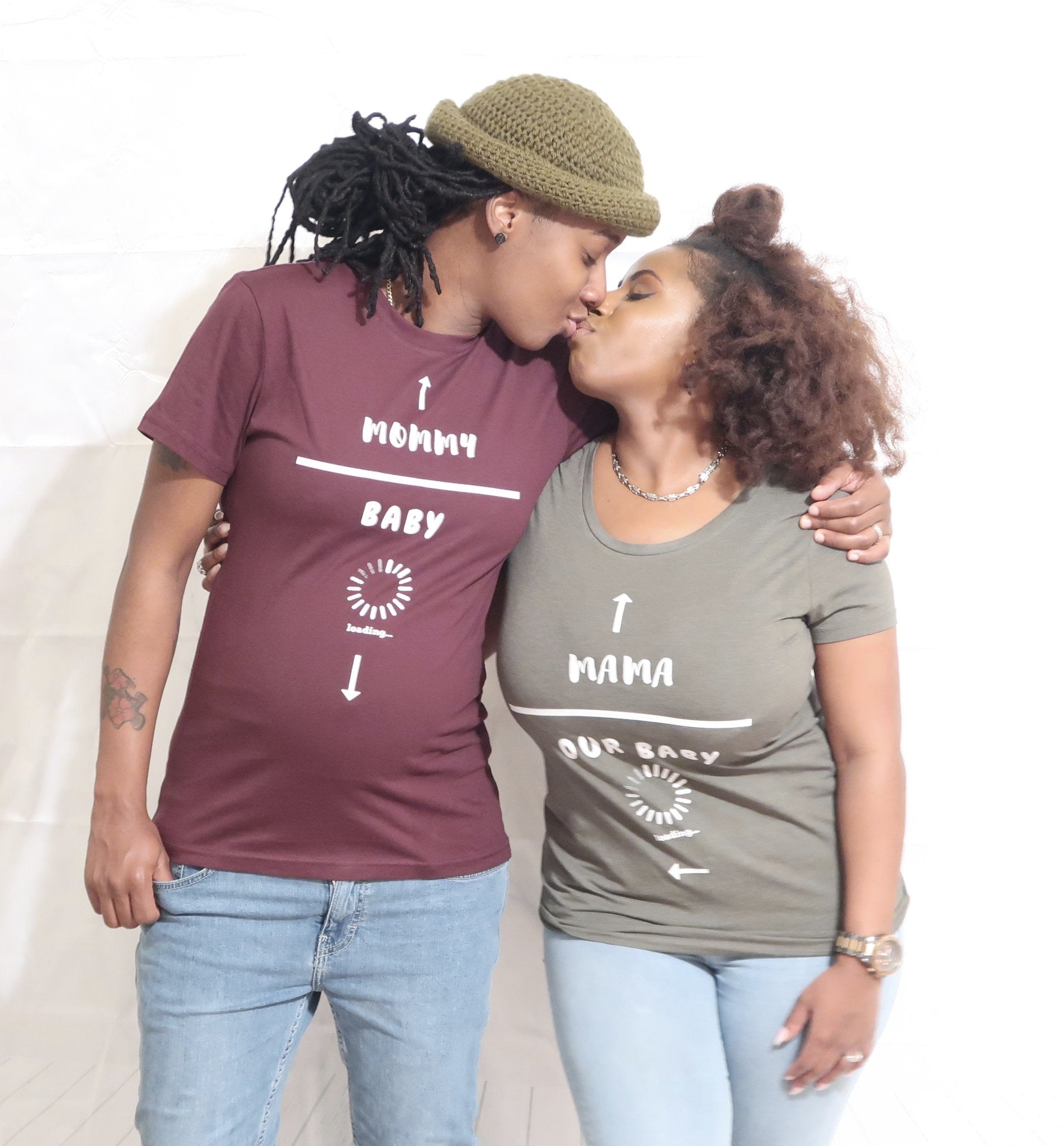Mommy/Baby Loading T-Shirt