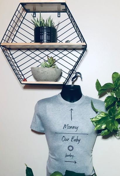 Mommy Baby Loading T-Shirt