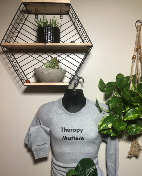 Therapy Matters Crewneck