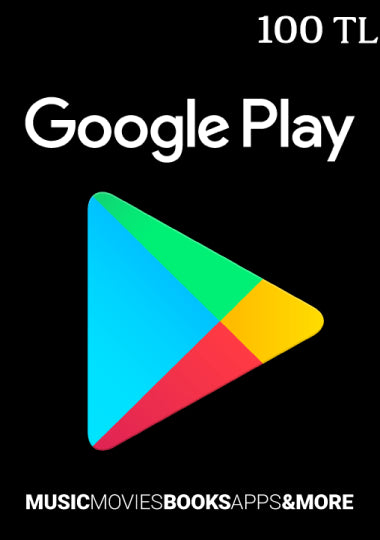 Google Play 100 TL