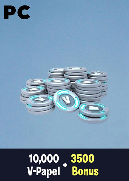 Fortnite 10,000 V-Papel + 3500 Bonus