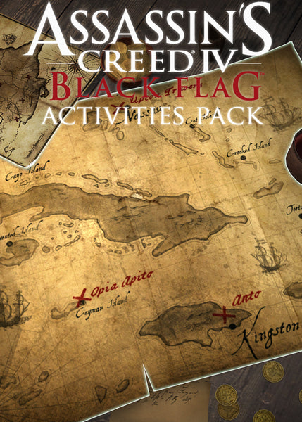Assassin's Creed IV: Black Flag - Time saver Activities Pack