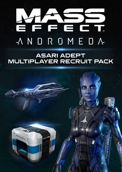 Mass Effect: Andromeda Asari Adept Multiplayer Recruit Pack