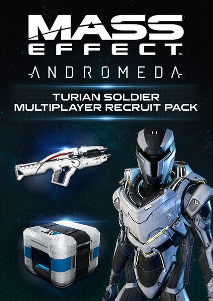 Mass Effect: Andromeda Turian Soldier Multiplayer Recruit Pack