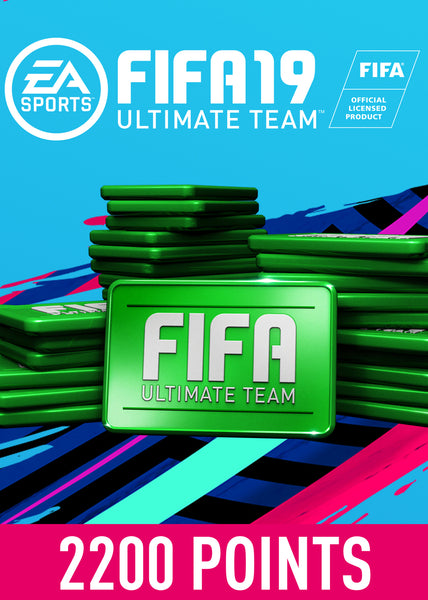 FIFA 19 ULTIMATE TEAM FIFA POINTS 2200