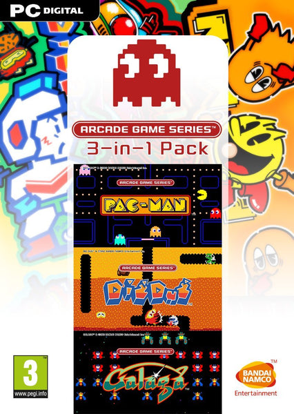 ARCADE GAME SERIES 3-in-1 Pack - Oynasana