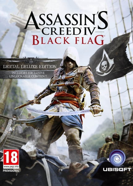 Assassin's Creed IV: Black Flag Deluxe Edition - Oynasana