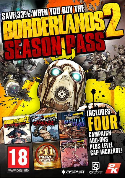 Borderlands 2 Season Pass (MAC) - Oynasana