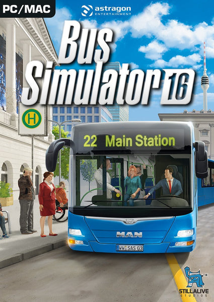 Bus Simulator 16 - Oynasana