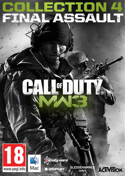 Call of Duty: Modern Warfare 3 Collection 4: Final Assault (MAC) - Oynasana