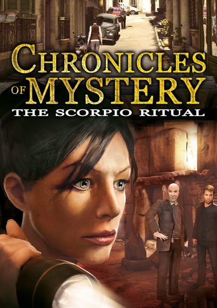 Chronicles of Mystery: The Scorpio Ritual - Oynasana