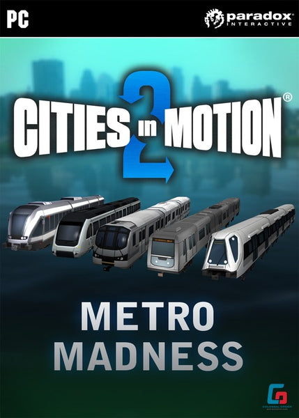 Cities in Motion 2: Metro Madness (DLC) - Oynasana
