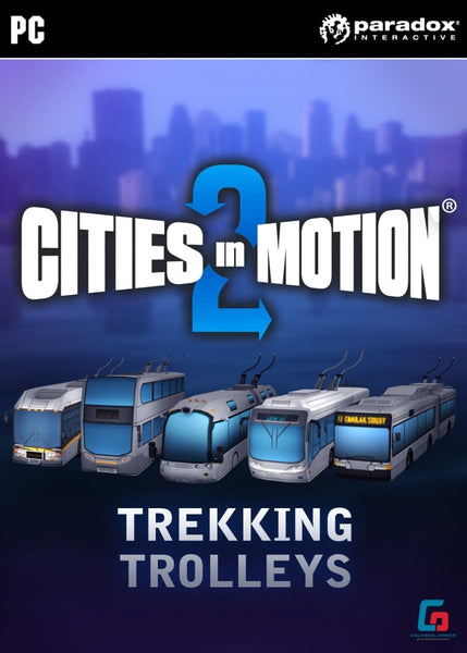 Cities in Motion 2: Trekking Trolleys (DLC) - Oynasana