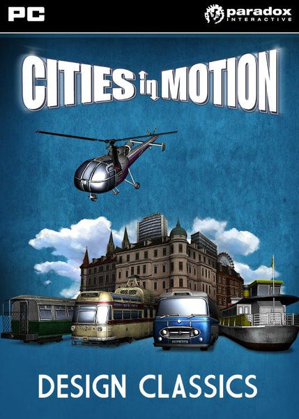Cities in Motion: Design Classics (DLC) - Oynasana