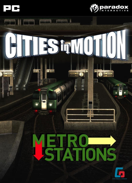 Cities in Motion: Metro Station (DLC) - Oynasana