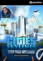 Cities: Skylines - Content Creator Pack: High-Tech Buildings - Oynasana