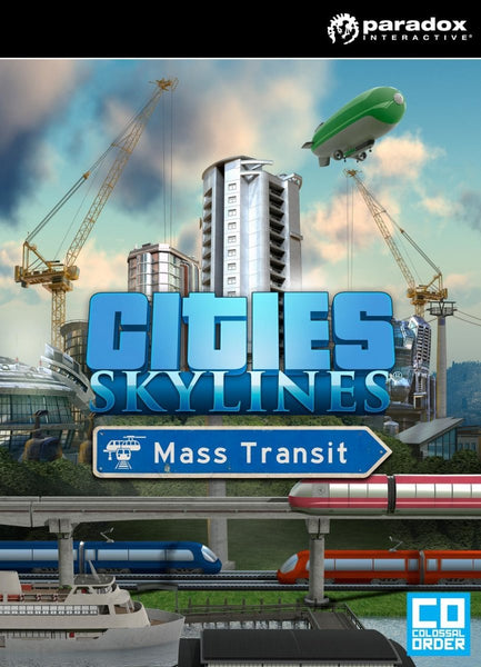 Cities: Skylines - Mass Transit - Oynasana