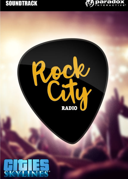 Cities: Skylines - Rock City Radio - Oynasana