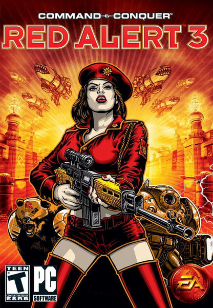 Command & Conquer Red Alert 3 - Oynasana