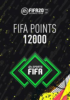 FIFA 20 ULTIMATE TEAM FIFA POINTS 12000 WW - Oynasana