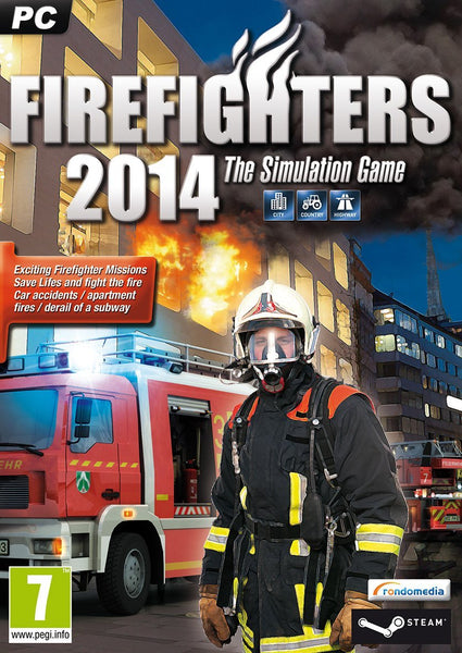 Firefighters 2014 - The Simulation - Oynasana