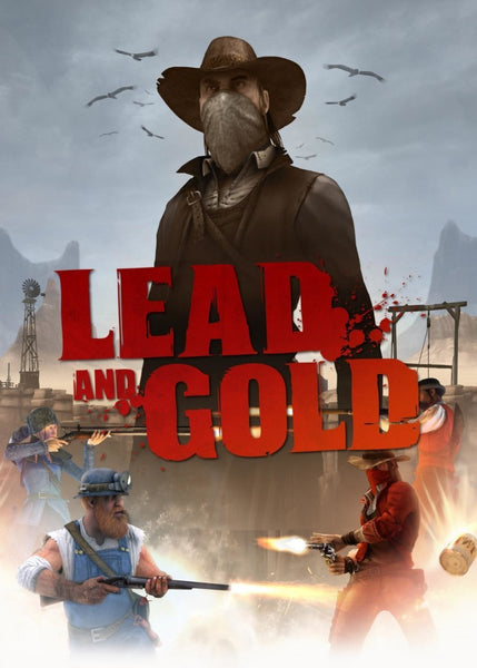 Lead and Gold: Gangs of the Wild West - Four Pack - Oynasana