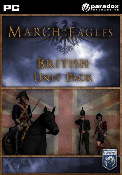 March of the Eagles: British Unit Pack - Oynasana