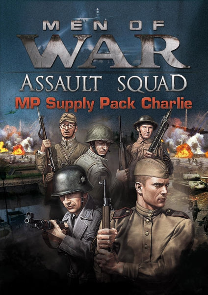Men of War: Assault Squad - MP Supply Pack Charlie - Oynasana