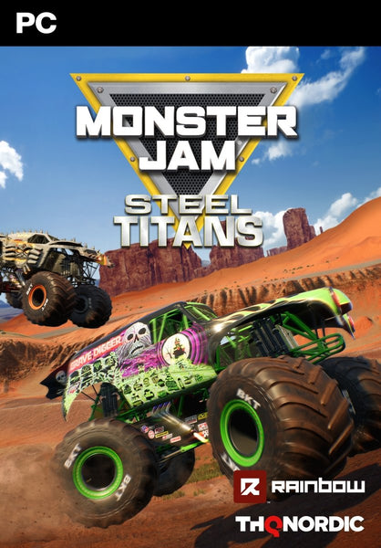Monster Jam Steel Titans - Oynasana