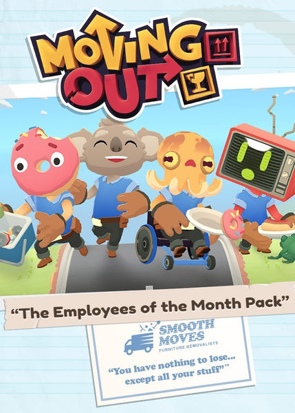 Moving Out - The Employees of the Month Pack - Oynasana