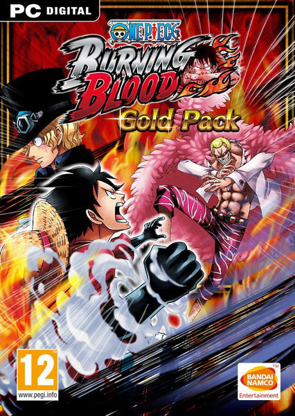 One Piece Burning Blood - Gold Pack - Oynasana