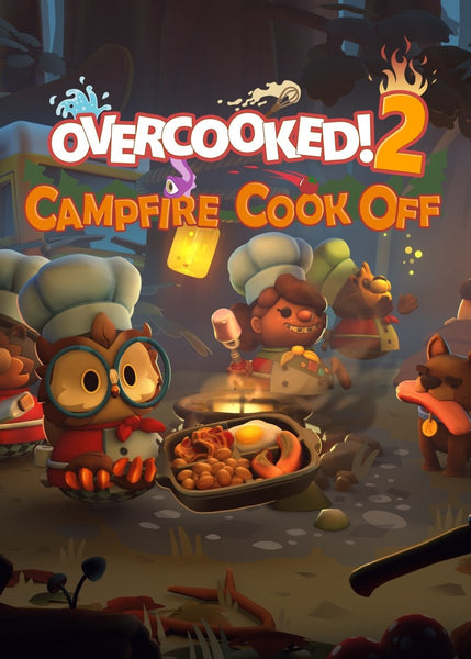 Overcooked! 2 - Campfire Cook Off - Oynasana