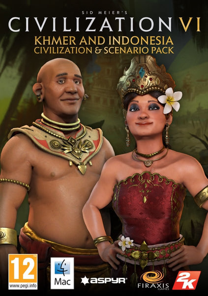 Sid Meier's Civilization VI - Khmer and Indonesia Scenario Pack - Oynasana